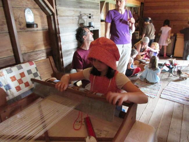 Pioneer Day, 2015, Loom 2