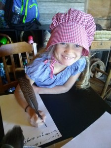 Pioneer Summer Camp Writing Letters