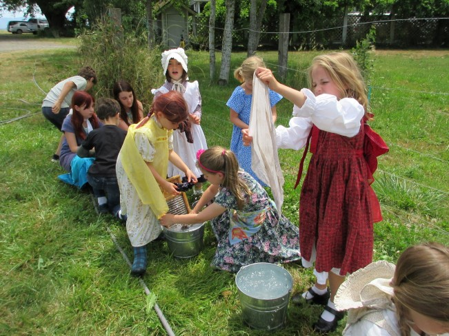 June 2015 Summer Camp Laundry
