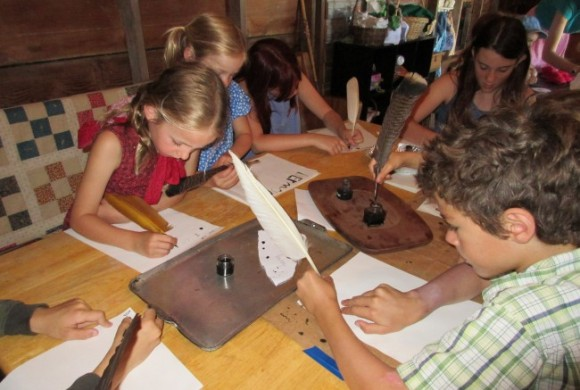 June 2015 Summer Camp Letters Quills Ink