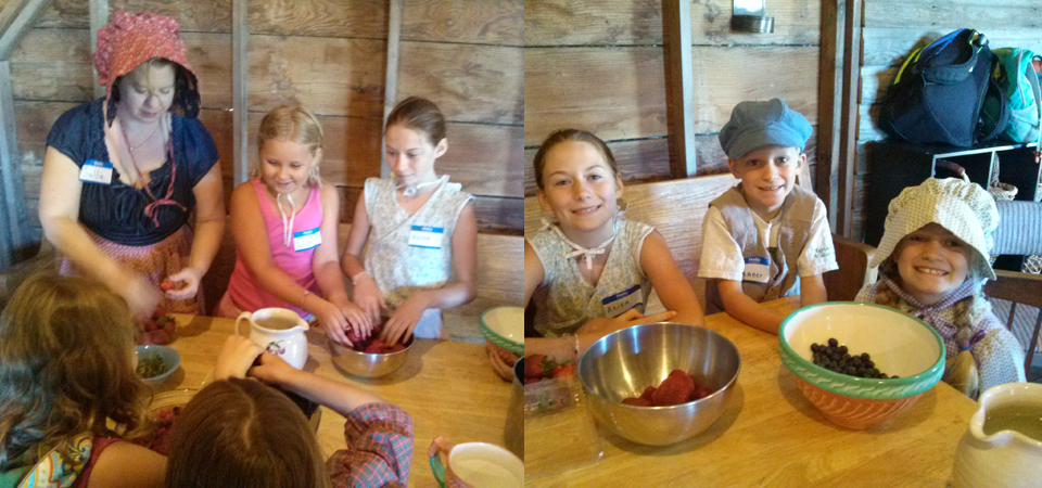 food and cooking pioneer kids
