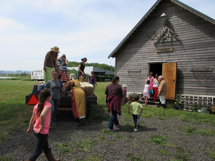 hayride pioneer singing creek center