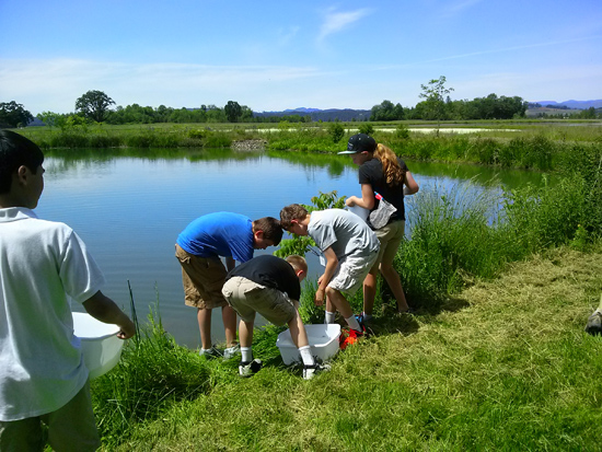 5th Grade Field Trips Launch for Aquatic Science