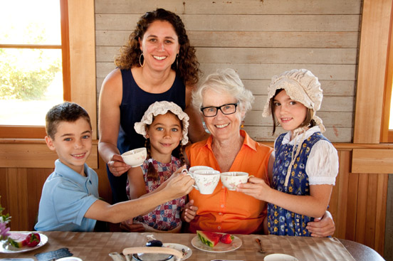 Grandparent's Tea Event, Fall 2016