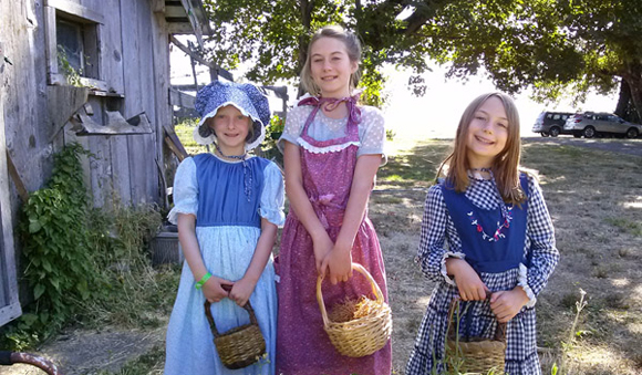 girl scouts pioneer homesteading singing creek center oregon