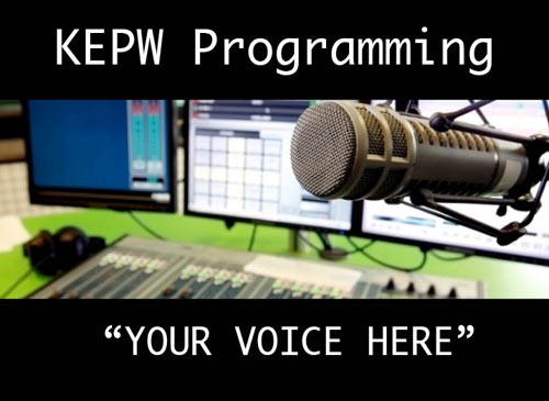 kepw.org radio podcast singing creek educational center history