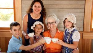 grandparents pioneer tea schoolhouse singing creek center junction city