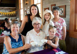 pioneer tea grandparents day singing creek center