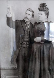 Dr Snapp and wife