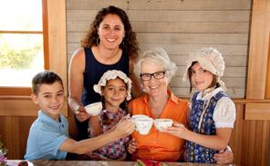grandparent tea pioneer singing creek educational center cottage grove oregon