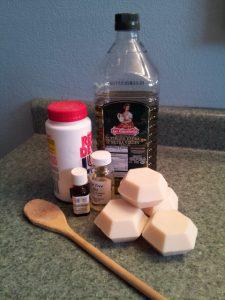 soap making homestead arts at Singing Creek Educational Center
