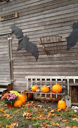 halloween at the granary singing creek educational center