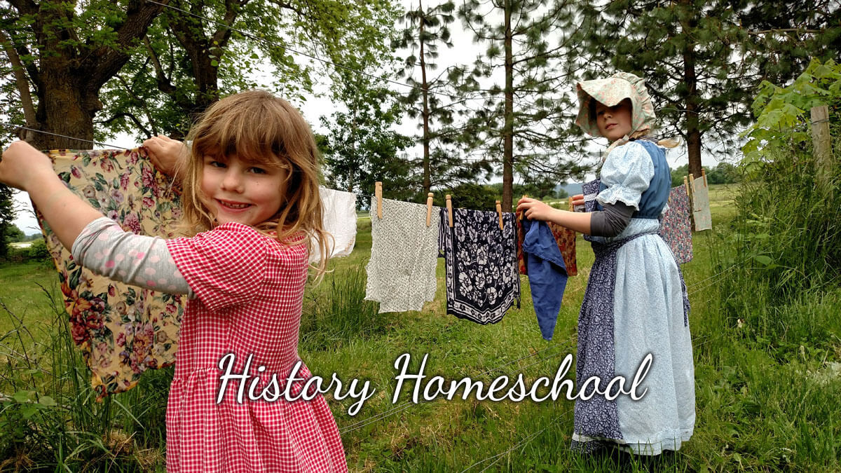 history homeschool online 2020 covid safe
