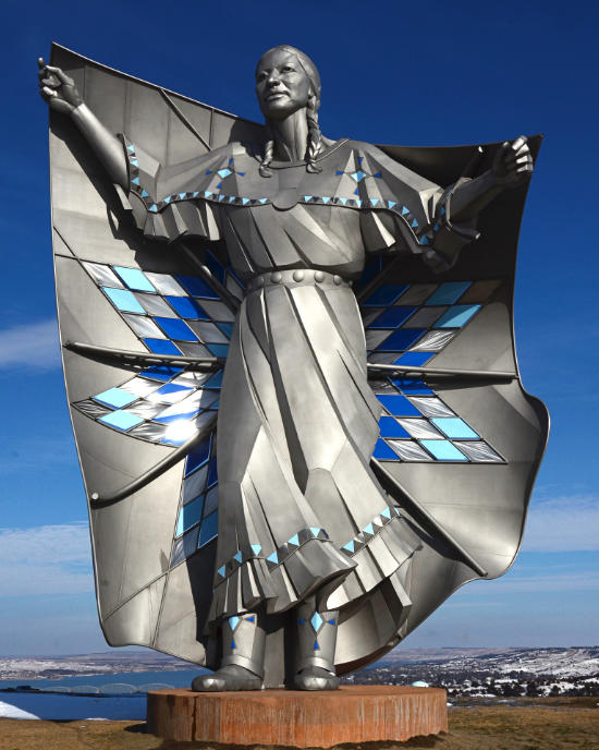 dignity statue in South Dakota singing creek educational center children