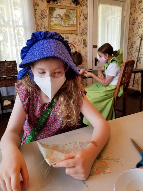 socially disctanced summer camp sewing