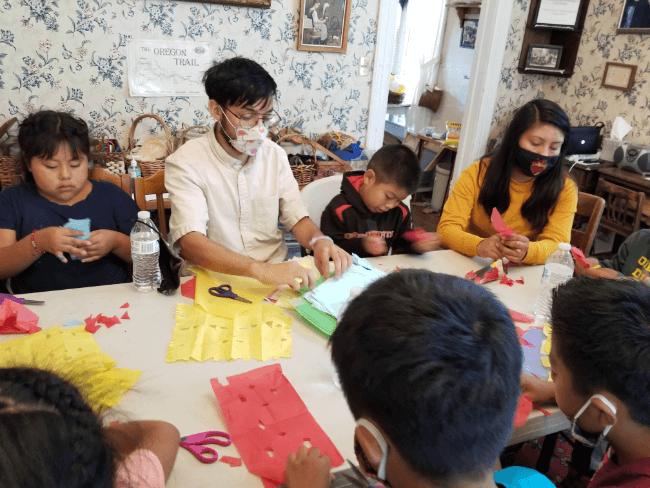 latin american crafts pueblos summer camp