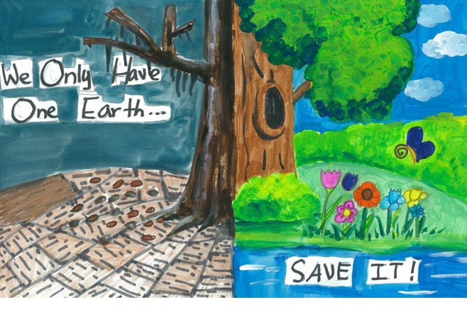 Save the Earth Poster Contest coming to Cottage Grove!
